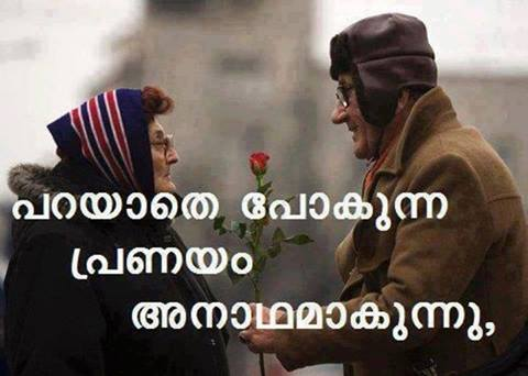 Image Of Love Words In Malayalam